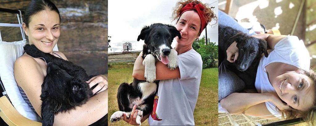 Vernesa, Marijana i Mirta, osnivačice udruge Kako psi komuniciraju
